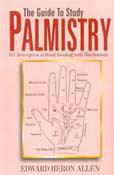 The Guide To Study Palmistry ; 817 Description Of Hand Reading(P