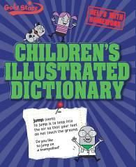 GOLD STARS : CHILDREN'S ILLUSTRATED DICTIONARY - Click Image to Close