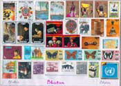 Bhutan (Collection Stamps)