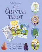 The Crystal Tarot: An Inspirational Book And Full Deck of 78 Tar